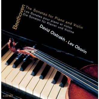 베토벤 바이올린 소나타 전곡집 [4CD] / 다비드 오이스트라흐